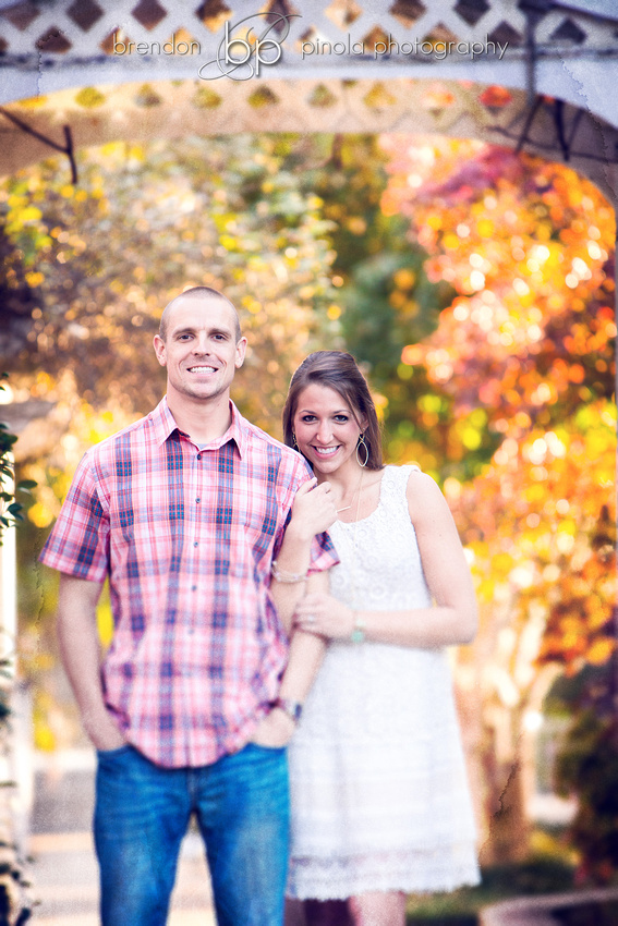 Engagement session at Mathew's Manor